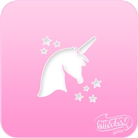 Unicorn Pink Power Stencil
