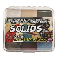 ProAiir Solids Wicked Palette