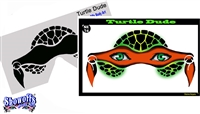 Turtle Dude Stencil Eyes