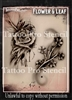 Wiser Pro Tattoo Stencils-- Flower and Leaf