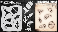 Wiser Pro Tattoo Stencils-- Small Things