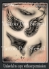 Wiser Pro Tatto Stencils-- Wings
