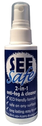 SEEsafe 2-in-1 antifog & cleaner