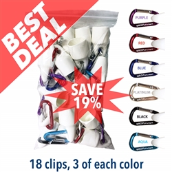 spitCLIP Variety Pack of 18 clips