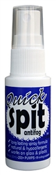 Quick spit antifog spray formula