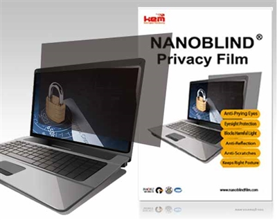 2 way nanoblind privacy filter for 15 inch notebooks w 12 inch x h 9