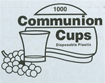 Communion Cups (1000 Box)