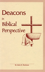 Deacons in Biblical Perspective
