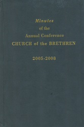 2005-2008 Annual Conference Minutes