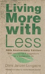 Living More with Less - 30th Anniversary edition