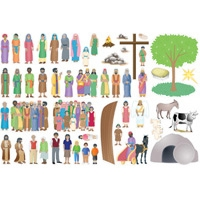 Wee Wonder Bible Story Picture Sheet
