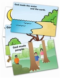 Wee Wonder Bible Activity Cards 2: God made the world