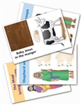 Wee Wonder Bible Activity Cards 4: Jesus is born