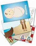 Wee Wonder Bible Activity Cards 5: Jesus and his friends