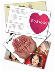 Wee Wonder Bible Activity Cards 6: Loving God