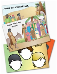 Wee Wonder Bible Activity Cards 8: Holy Week and Easter