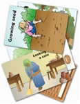 Wee Wonder Bible Activity Cards 9: Jesus told stories