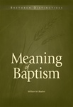Meaning of Baptism