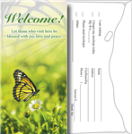 Butterfly Pew Offering Envelopes - package of 100