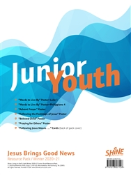 Junior Youth Resource Pack, Winter 2017 - 2018