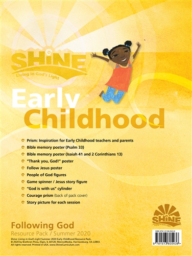 Early Childhood Resource Pack, Summer 2019