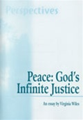 Peace: God's Infinite Justice