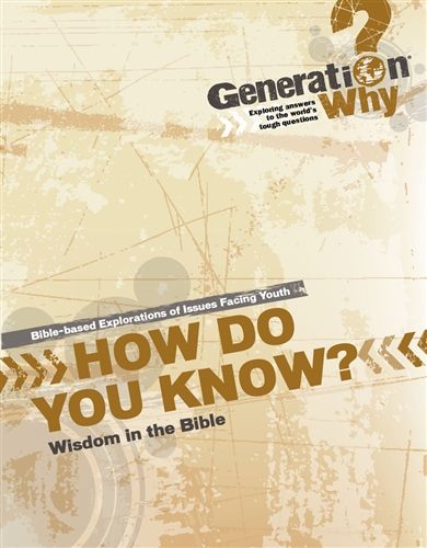 How Do You Know?: From Proverbs, Job, and Ecclesiastes - pdf