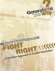 Fight Right: A Christian Approach to Conflict Resolution- pdf
