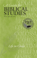A Guide for Biblical Studies Spring 2019:  Discipleship and Mission [LARGE PRINT]