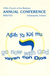 1981 Annual Conference Minutes: Go Now with God