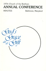 1983 Annual Conference Minutes: God's Grace as a Gift