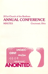 1987Annual Conference Minutes: Anointed