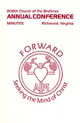 1992 Annual Conference Minutes: Aim Forward: Seeking the Mind of Christ