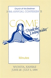 1994 Annual Conference Minutes: Come Drink the Living Water