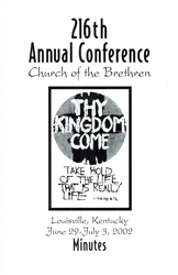2002 Annual Conference Minutes: Thy Kingdom Come