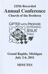 2011 Annual Conference Minutes: Gifted With Promise: Extending Jesus' Table