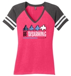 Be Disarming - Ladies V-neck