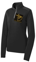 Church of the Brethren logo 1/4 zip pullover