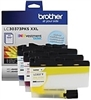 SIP TAX EXEMPT Care Package BROTHER MFC-J5845DW (1) COMPLETE SET OF COLOR INK LC3037 COLOR (OEM) (Yum members)