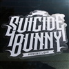 "Suicide Bunny 6"" Window Decal"