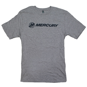 Mercury Logo Soft Tee - Light Heather Grey