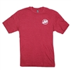 Mercury Logo Soft Tee - Heathered Red