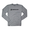 Mercury Offshore L/S Performance Tee - Silver