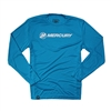Mercury Offshore L/S Performance Tee - Blue