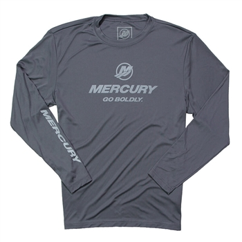 Competitor LS Performance Tee - Iron Grey
