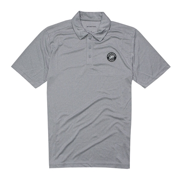 Endeavor Polo - Light Grey Heather