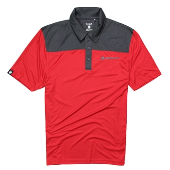 Parma Polo - Red | Grey