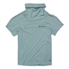 Women's UA Iso-Chill Cowl Neck Tee - Enamel Blue