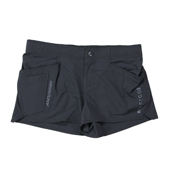 Ladies AFTCO Microbyte Shorts - Black