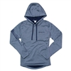 Women's Wicking Fleece Hoodie - Navy Heather